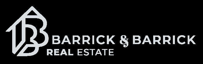 Barrick and Barrick Real Estate Logo
